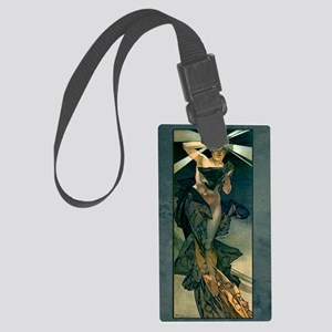 Morningstar Greeting Card Large Luggage Tag