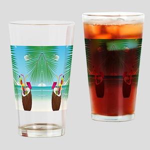 Coconut Beach Drinking Glass