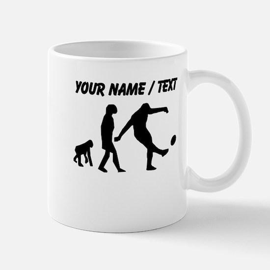 Custom Rugby Kick Evolution Mugs