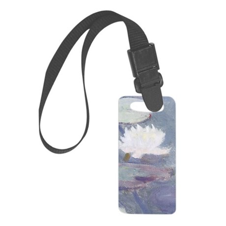 Monets Garden Small Luggage Tag