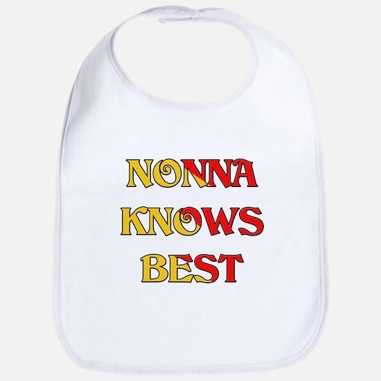 Nonna Knows Best Bib