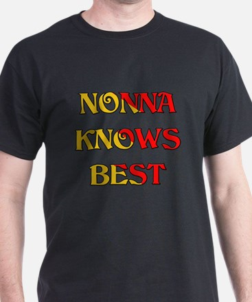 Nonna Knows Best T-Shirt