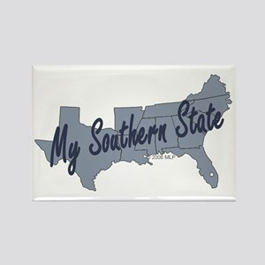 My Southern State Rectangle Magnet