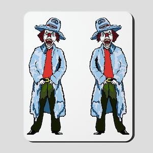 Evil Pimpin Clown Mousepad