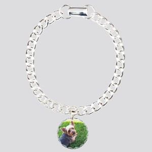 Attention dog loverAdora Charm Bracelet, One Charm