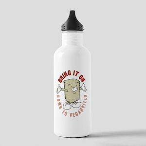 Veganville Stainless Water Bottle 1.0L