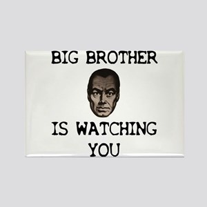 BIG BROTHER IS WATCHING YOU Rectangle Magnet
