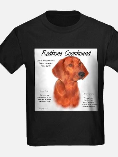 Redbone Coonhound Ash Grey T-Shirt