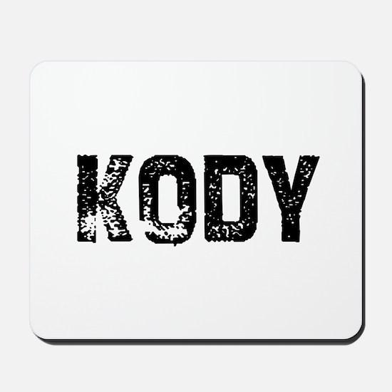 Kody Mousepad