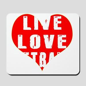 Live Love Netball Designs Mousepad