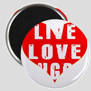 Live Love Rugby Designs Magnet