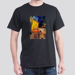 Cafe - Airedale (S) Dark T-Shirt