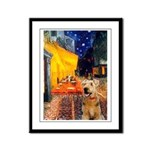 Cafe - Airedale (S) Framed Panel Print