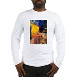 Cafe - Airedale (S) Long Sleeve T-Shirt