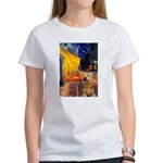 Cafe - Airedale (S) Women's T-Shirt