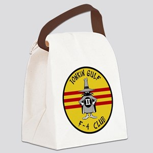 Tonkin Gulf F-4 Club Canvas Lunch Bag