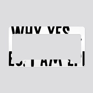 yesImEpic1A License Plate Holder