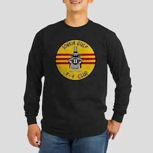 Tonkin Gulf F-4 Club Long Sleeve Dark T-Shirt