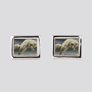 Arctic Fox Cufflinks