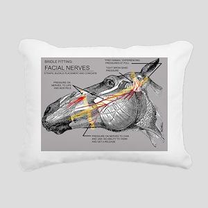 Facial Nerves and the im Rectangular Canvas Pillow