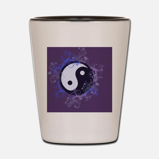 Yin Yang Shot Glass