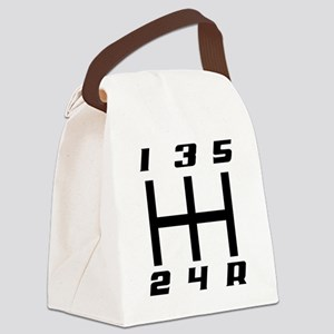 5-speed logo Canvas Lunch Bag