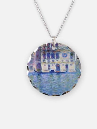 Monet Palazzo-Dario Painting Necklace