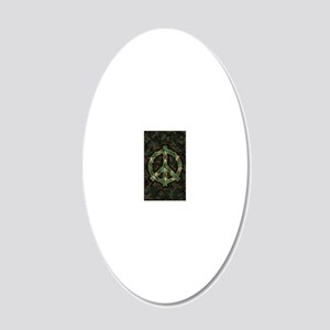 Peace Keepers - iPhone 20x12 Oval Wall Decal
