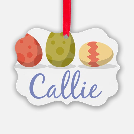 Easter Egg Callie Ornament