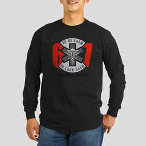 The Dirty Dozen Long Sleeve Dark T-Shirt