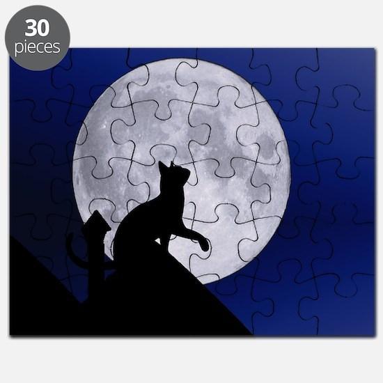 Moon Cat Puzzle