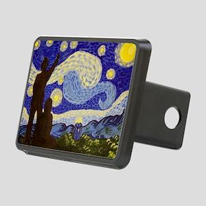 Phone Box Starry Night Rectangular Hitch Cover
