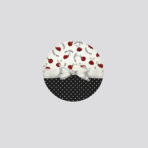 Ladybug Dreams Mini Button