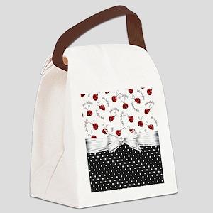 Ladybug Dreams Canvas Lunch Bag