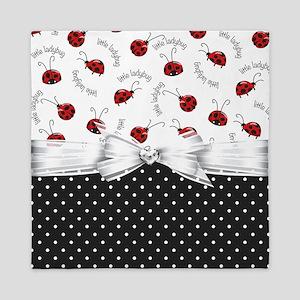 Ladybug Dreams Queen Duvet