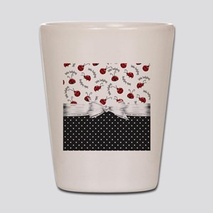 Ladybug Dreams Shot Glass