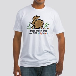 Brown Jelly Beans Fitted T-Shirt