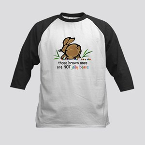 Brown Jelly Beans Kids Baseball Jersey