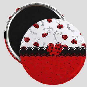 Ladybugs Dotty World Magnet