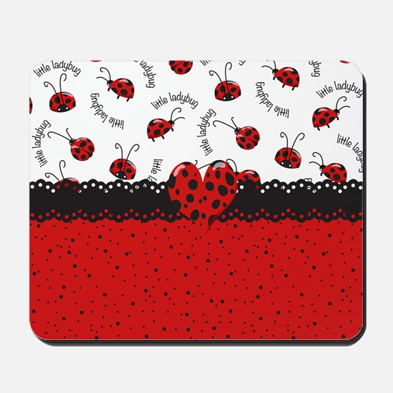 Ladybugs Dotty World Mousepad