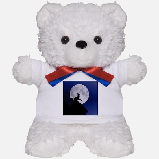 Moon Cat Teddy Bear