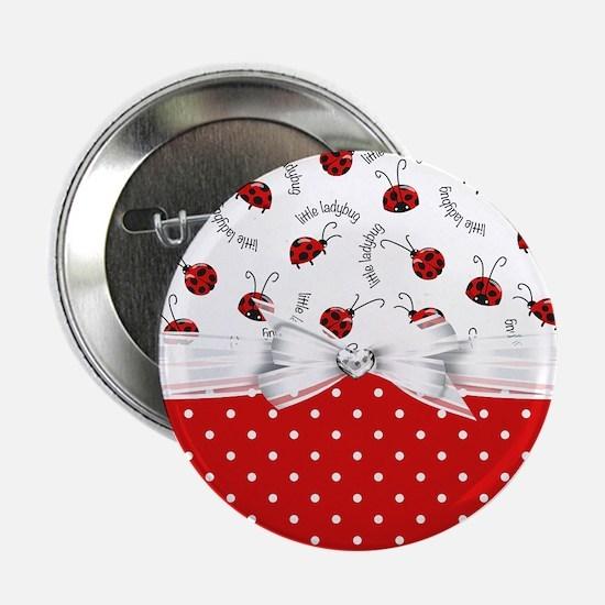 """Ladybug  Surprises 2.25"""" Button"""