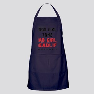 BAD GIRLS DEADLIFT - WHITE Apron (dark)