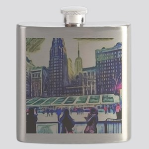 City Life Flask