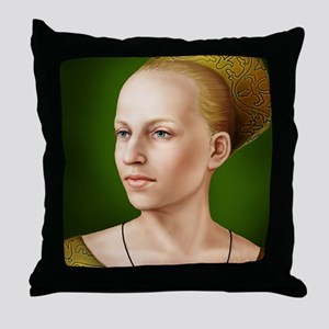 9X12-Sml-framed-print-elwoodville Throw Pillow