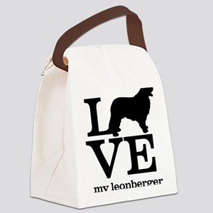 Love my Leonberger Canvas Lunch Bag