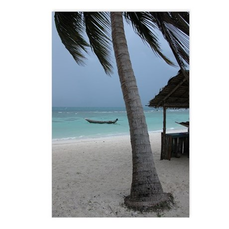 Coconut tree Postcards (Package of 8)