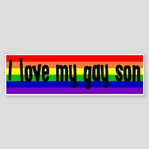 """Gay Son"" Bumper Sticker"