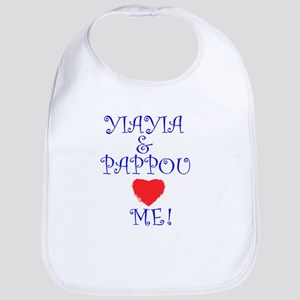 YIAYIA AND PAPPOU LOVE ME Bib