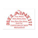 I'm Helaine 2 Mini Poster Print